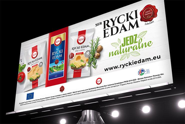 Kampania promocyjna sera RyckiEdam