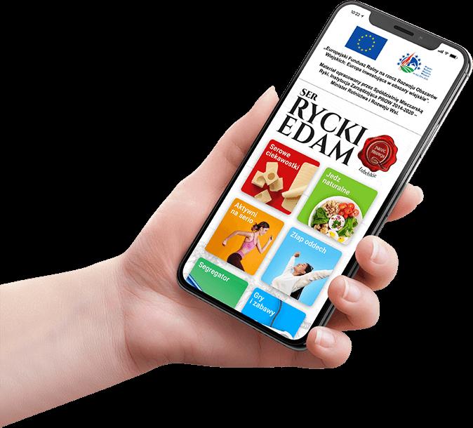 Aplikacja Ser RyckiEdam dlakonsumentów!