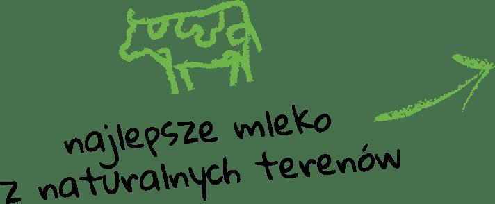 najlepsze mleko znaturalnych terenów